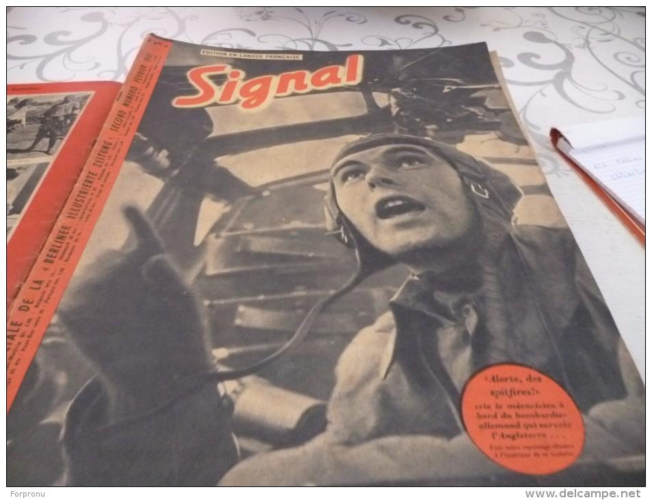 14 Journaux SIGNAL Français 1941/1942/1943/1944 - Magazines & Papers