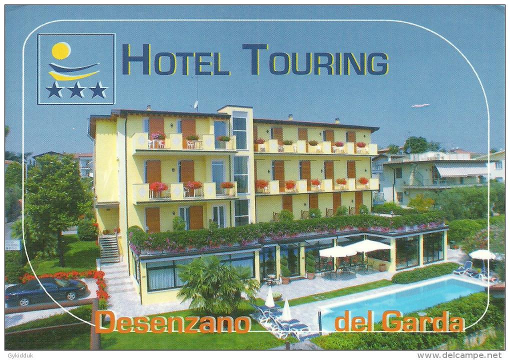 HOTEL TOURING DESENZANO Del GARDA, BRESCIA, LOMBARDIA, ITALY. - Brescia