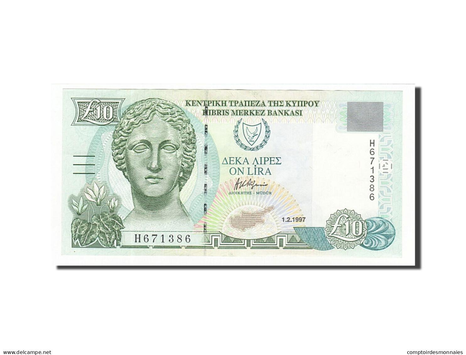 Chypre, 10 Pounds, 1997, 1997-02-01, KM:59, SUP - Chypre