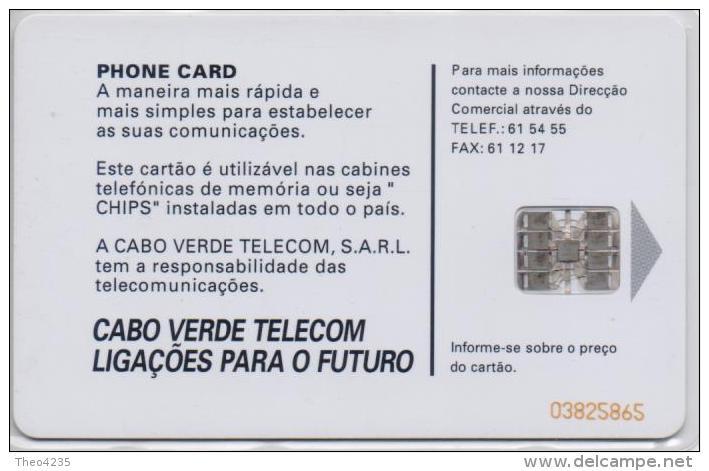 CAPE VERDE  PHONECARD -USED(bx1) - Cap Vert