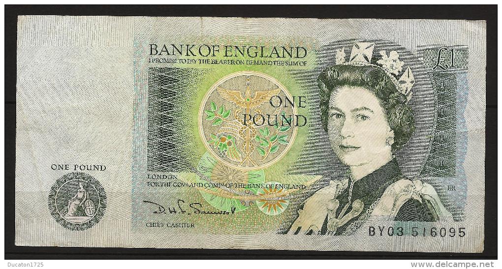 1 Pound 1978-1982. England/ Royaume-Uni. Elizabeth II° - 1952-… : Elizabeth II