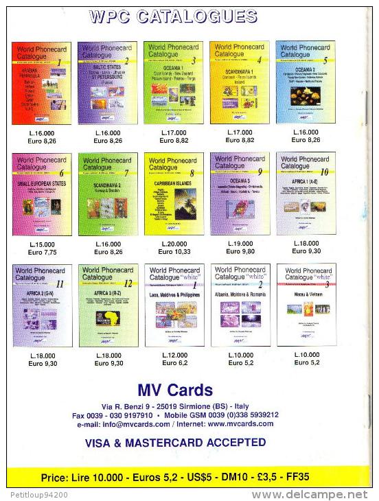 CATALOGUE TELECARTES  PHONECARD CATALOGUE   *Alaska *Cuba *Panama *Paraguay - Télécartes