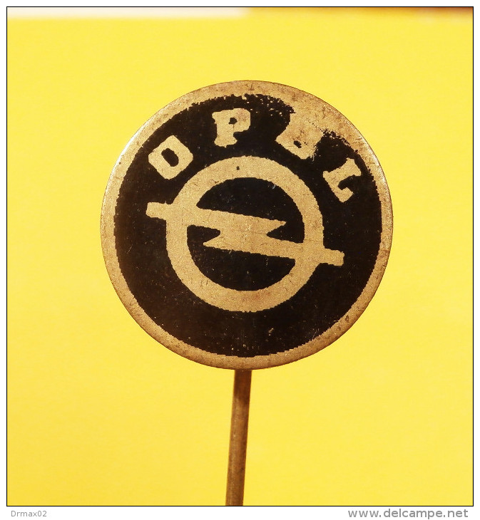 OPEL Auto Moto Industry / Car OLD LOGO Voiture   - Vintage Pin Badge - Opel
