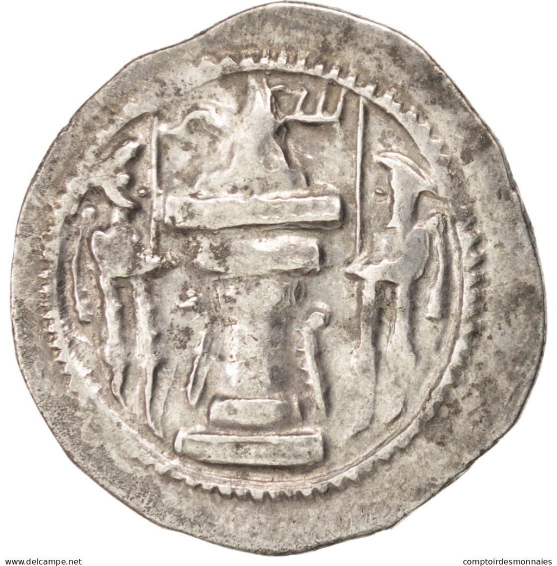 Sassanides, Vahram IV (388-399), Drachme, Göbl 141 - Orientales