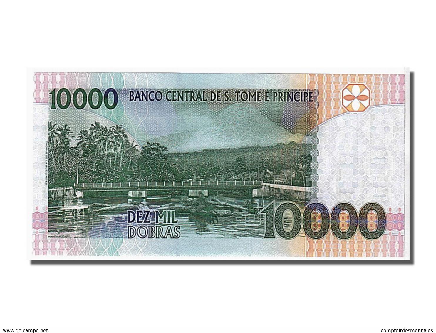 Saint Thomas Et Prince, 10 000 Dobras Type R. Amador - Sao Tomé Et Principe