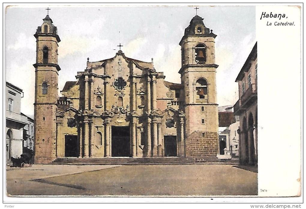 CUBA - HABANA - La Catedral - Cuba