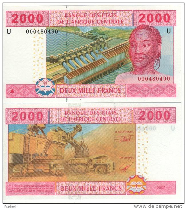 CAMEROUN 2'000 Francs , Central African States P208U   2000   UNC - Kameroen