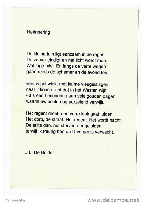 Doodsprentje August VOETS Wed. Hubertine Gerits Zammelen 1913 Hasselt 1999 Burgemeester Diepenbeek - Images Religieuses
