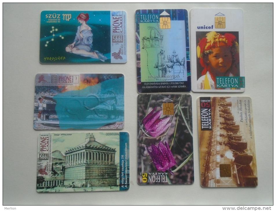 Phonecards   HUNGARY   7 Pcs    - D137281 - Télécartes