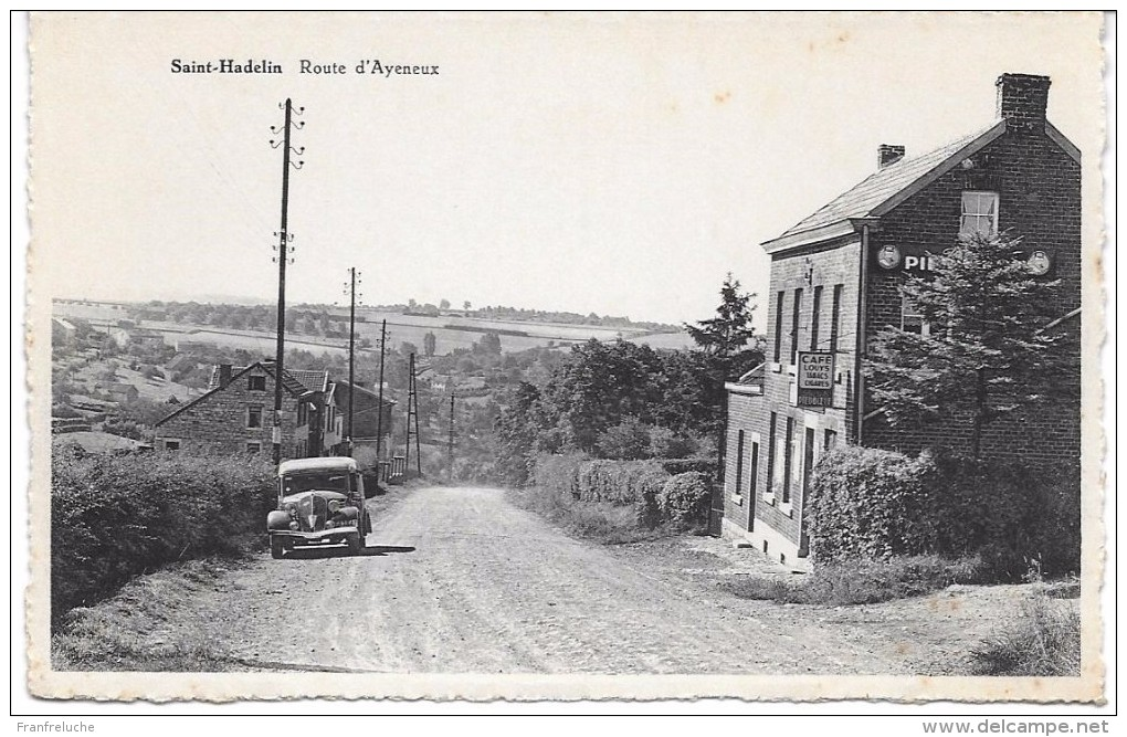 OLNE Saint HADELIN ( 4877) Route D ' Ayeneux - Olne