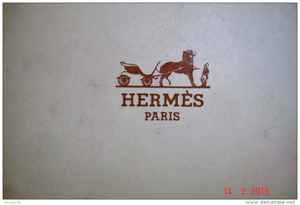 Coffret Equipage Hermes Eau De Toilette 10 Ml,après-rasage 30 Ml Savon 24 Grs 1981.Complet Non Touché. - Parfum (neuf Sous Emballage)
