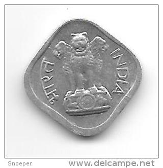 *india  1 Paisa 1968 B Km 10.1  Unc !! - India