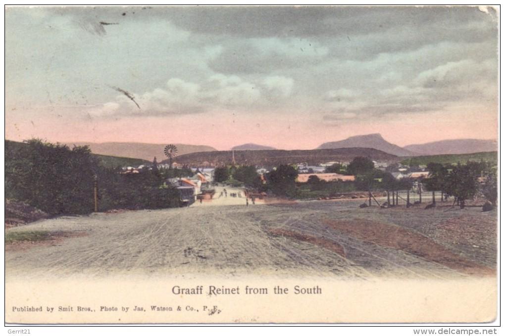 SOUTH AFRICA / SÜDAFRIKA - CAMDEBOO-GRAAF REINET, From The South - Südafrika