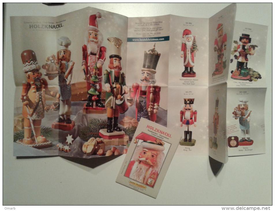 Alt836 Catalogo Miniature Natale Giocattoli Tipycal Play Soldat Soldato Christmas Noel Casse Noisette Santa King Roi - Reclame