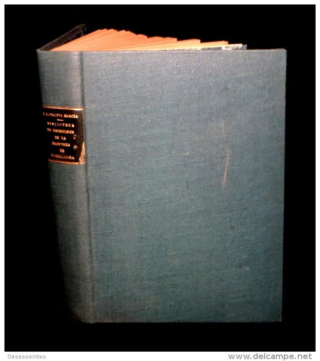 [ESPANA BIBLIOFILIA BIBLIOGRAFIA] CATALINA GARCIA - Biblioteca De Escritores De Guadalajara. - Livres, BD, Revues