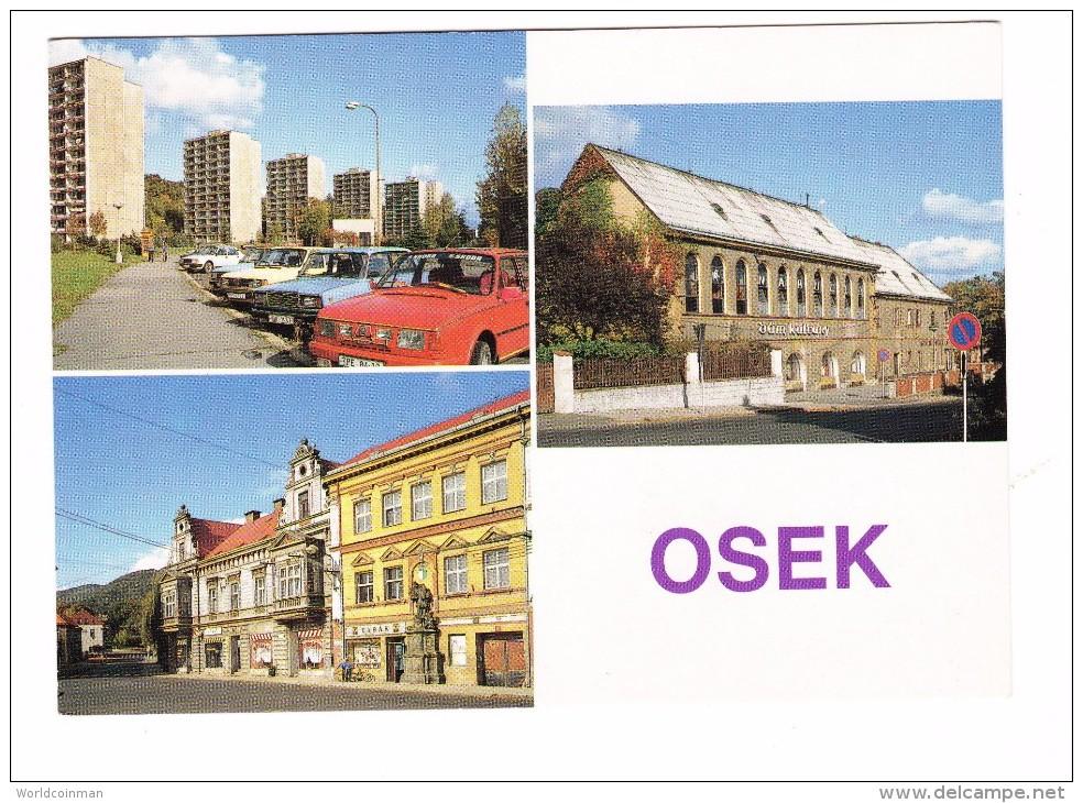 Osek Czechoslovakia  Postcard - Tsjechië