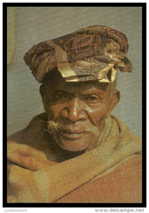 ASIA - TIMOR - Cabeça De Velho  ( Ed. C. T. I. De Timor) Carte Postale - Timor Oriental