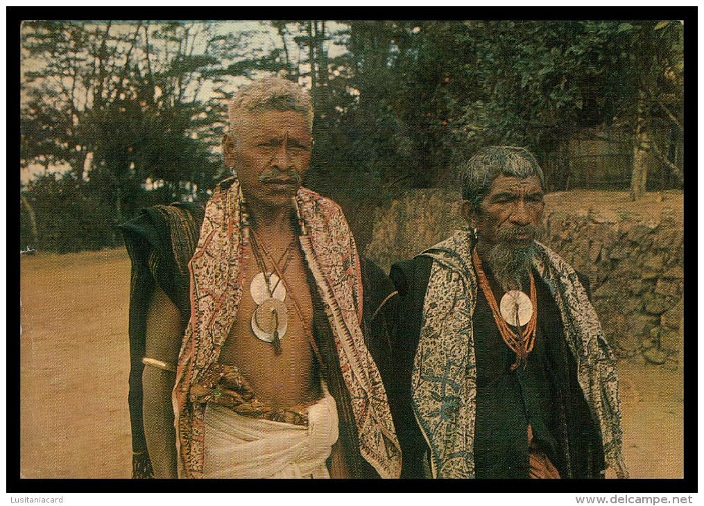 ASIA - TIMOR - Velhos De Laoane  Carte Postale - Timor Oriental