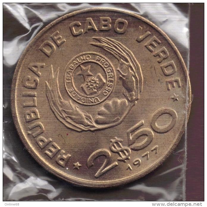 CABO VERDE 2,5 ESCUDOS 1977 FAO - Cap Vert