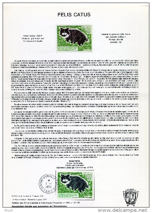 DOCUMENT TAAF : France T.A.A.F : Année 1994  N° 186 - French Southern And Antarctic Territories (TAAF)