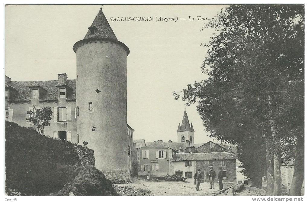 Aveyron : Salles-Curan,  La Tour - France