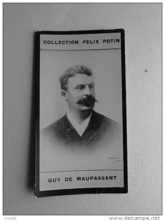 Guy De Maupassant - Felix Potin - Célébrités