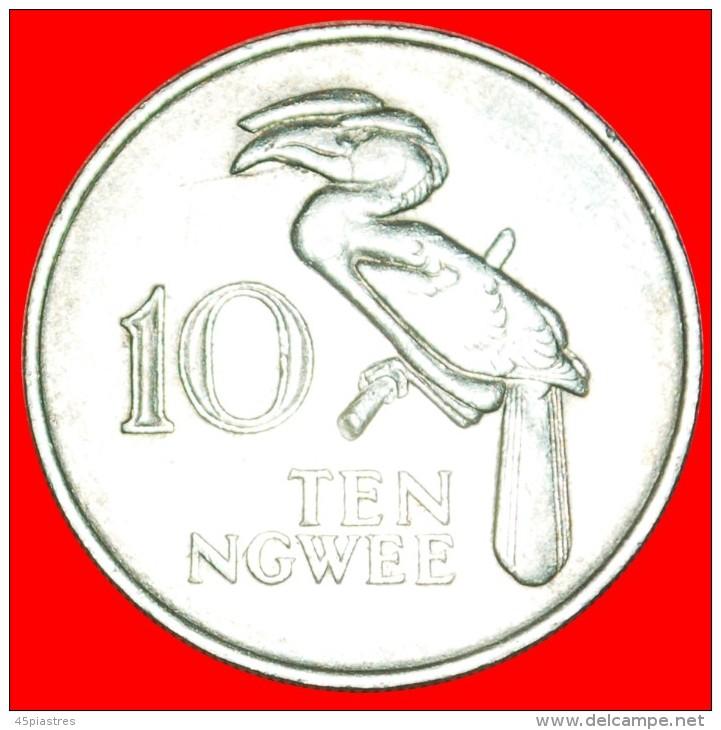★GREAT BRITAIN: ZAMBIA ★ 10 NGWEE 1968! LOW START ★ NO RESERVE!!! - Zambia