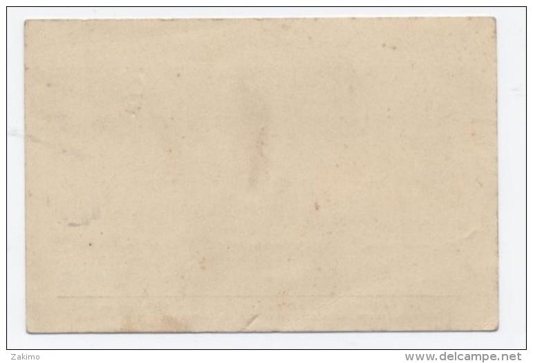 CARTE D´UN POMPIER DE 1910 VILLE D'AUTUN  -C32 - Pompiers