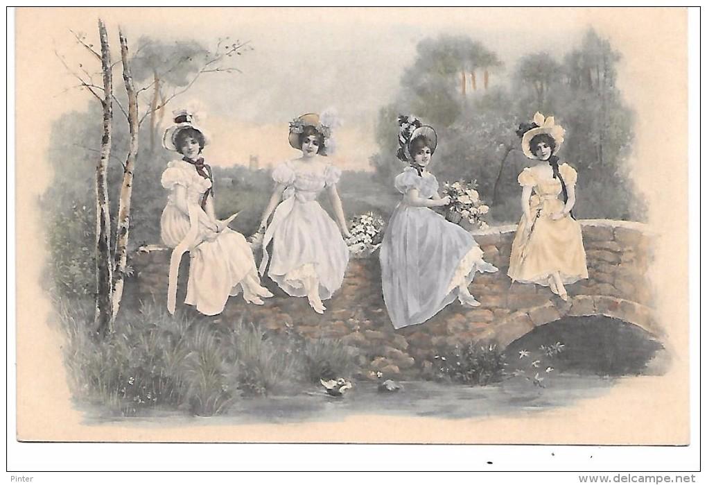 Jeunes Femmes - Illustrateur MM VIENNE - 257 - Vienne
