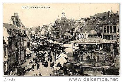 CPA Cassel - Un Jour De Marche (136423) - France
