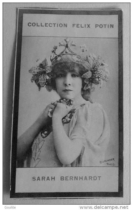 Sarah Bernhardt - Felix Potin - Célébrités
