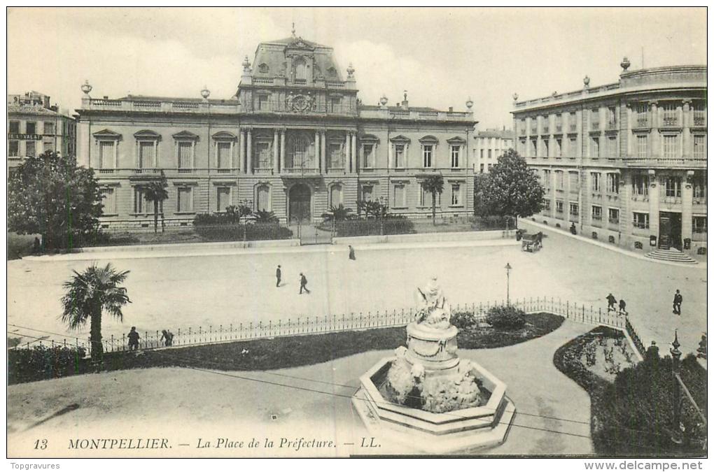 34 MONTPELLIER PLACE DE LA PREFECTURE LL - Montpellier