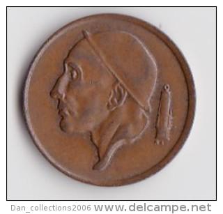 BELGIQUE BAUDOUIN  50 CENTIMES  BRONZE MONETAIRE TYPE MINEUR  ANNEE 1980 (française)  LOT N°242 - 1951-1993: Baudouin I