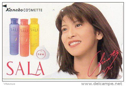 Cosmétique Cosmetics Femme Girl  Télécarte Telefonkarten Phonecard B 319 - Japan
