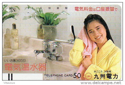 Cosmétique Cosmetics Femme Girl  Télécarte Phonecard B 322 - Giappone