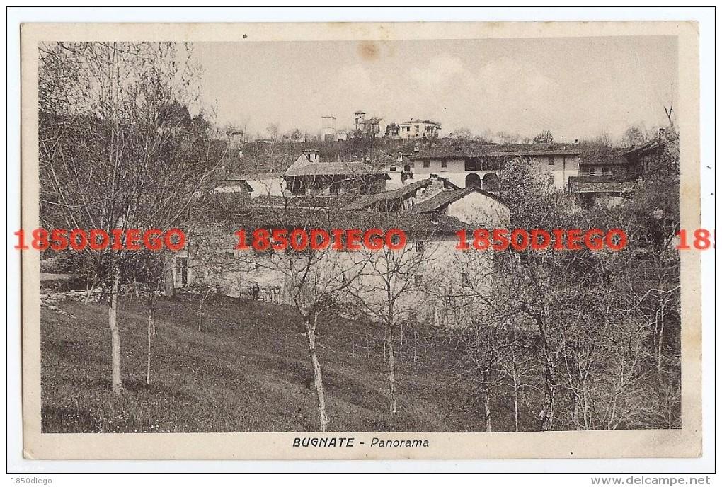 BUGNATE - PANORAMA  F/PICCOLO VIAGGIATA - Novara