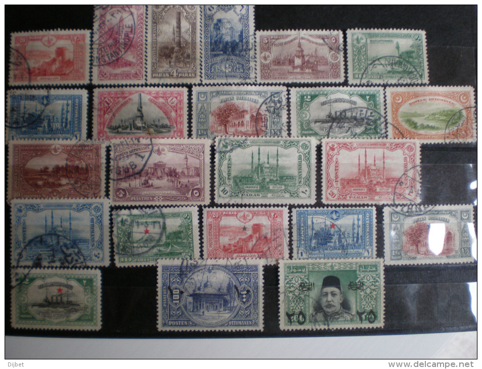 TIMBRES DE TURQUIE  OBLITERE - 1858-1921 Osmanisches Reich