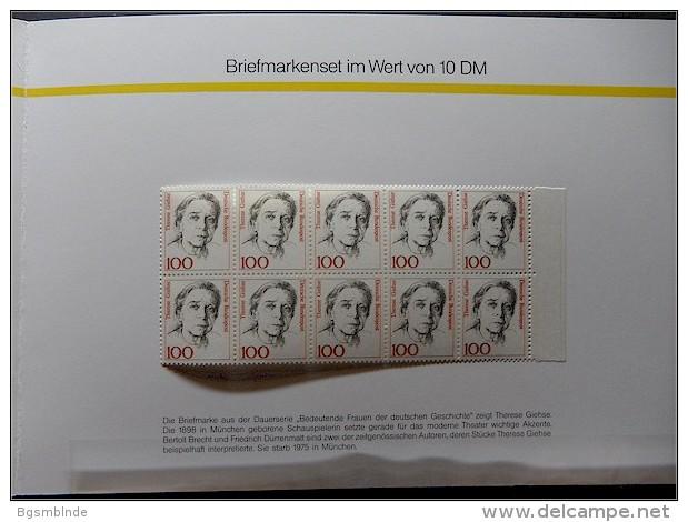 Jahresgabe 1991 ** Deutsche Bundespost Postdienst - Covers & Documents