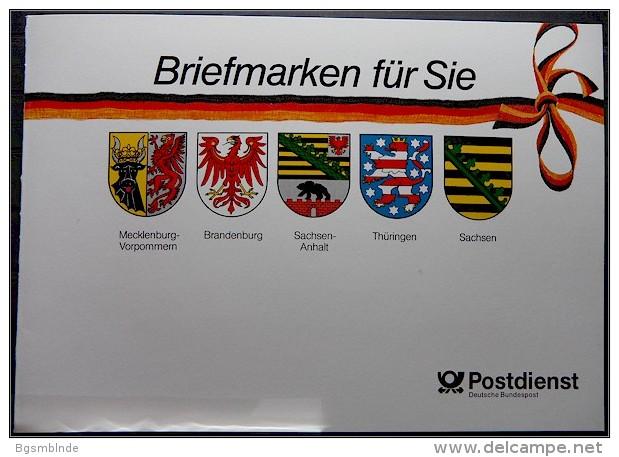 Jahresgabe 1991 ** Deutsche Bundespost Postdienst - [7] Federal Republic