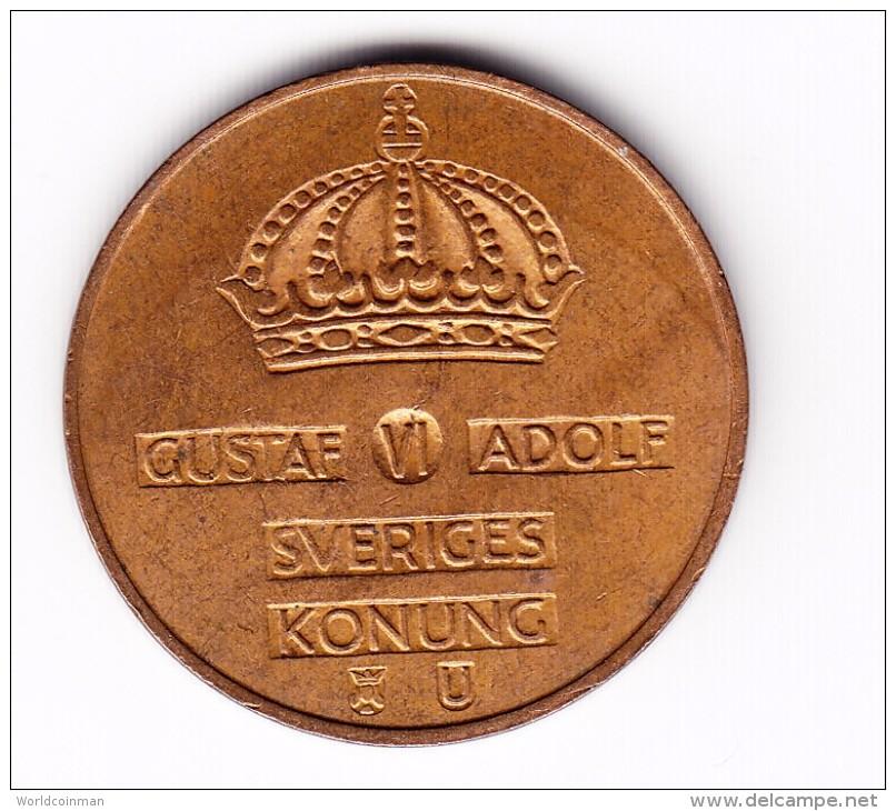 1968 Sweden 5 Ore Coin - Zweden