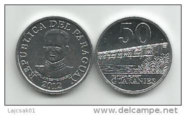 Paraguay 50 Guaranies 2012. UNC - Paraguay
