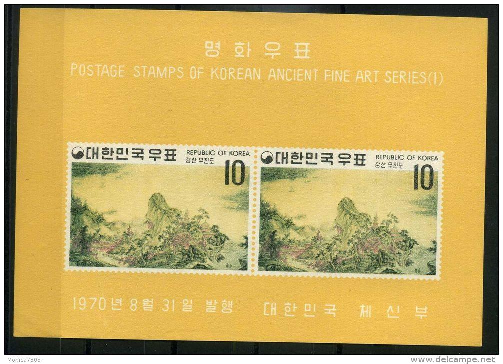 COREE DU SUD ( BLOC) : Y&T N°    181/183  BLOCS  NEUFS/MNH  SANS TRACE DE CHARNIERE , GOMME  D ORIGINE ,  A  VOIR . - Corée Du Sud