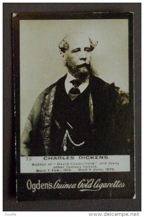 Charles Dickens - Ogden's Guinea - Célébrités