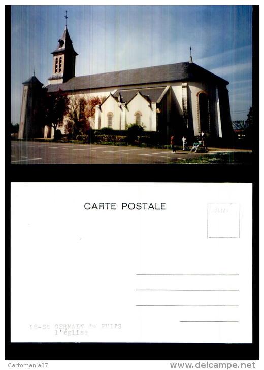 3563-18-2647  St Germain Du Puits église - Non Classés