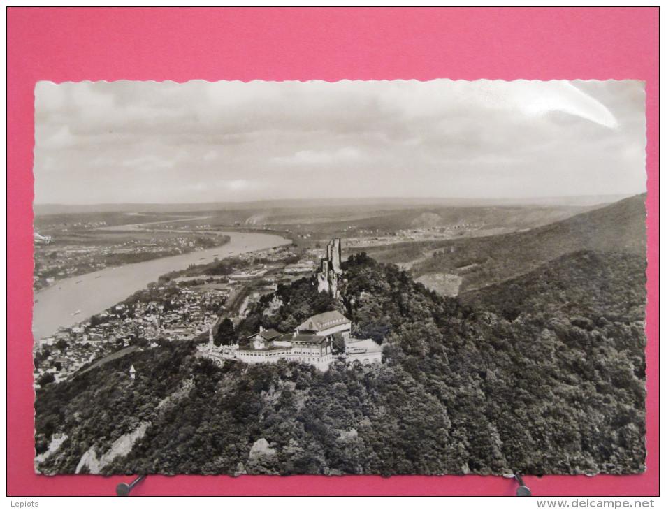 Konigswinter Am Rhein - Drachenfels - 1962 - Scan Recto-verso - Koenigswinter
