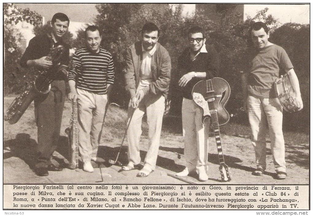 """MAN--0003-- """" MICROSTORIA  MUSICALE"""" - TAVOLA FUORI TESTO ALLEGATO ALL´INTREPIDO   N. 42 - ESCE IL  17-10-61 - Manifesti & Poster"""