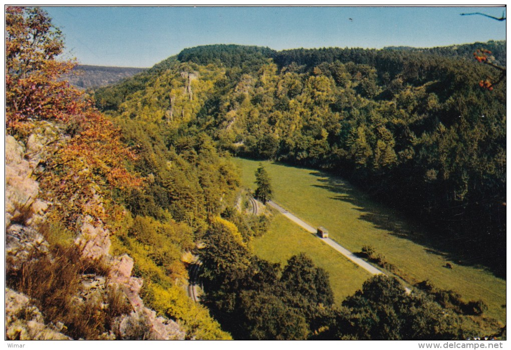 HAN Sur Lesse - Réserve Naturelle D'Animaux Sauvages - Panorama, Vu Des Rochers De Faule - Belgique