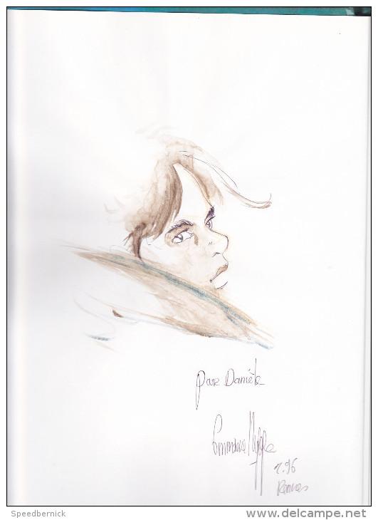 Bande Dessinée Dédicacée, NENE Névé -Blanc Nepal N°4-Dieter Lepage -rennes Objectif Bulles Villejean - Dessin Ty Bull - Livres, BD, Revues
