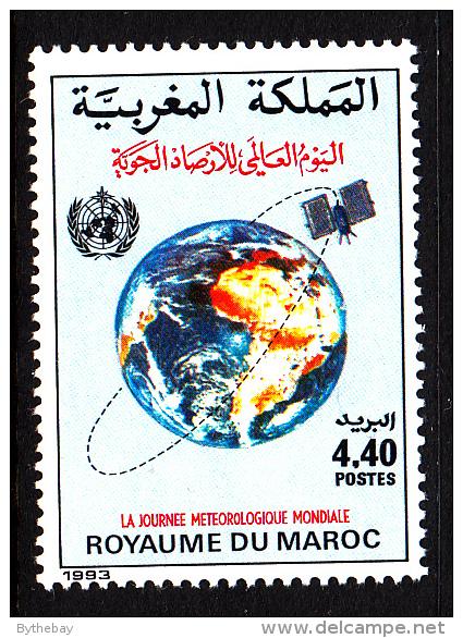 Morocco MNH Scott #759 4.40d World Meteorology Day - Morocco (1956-...)