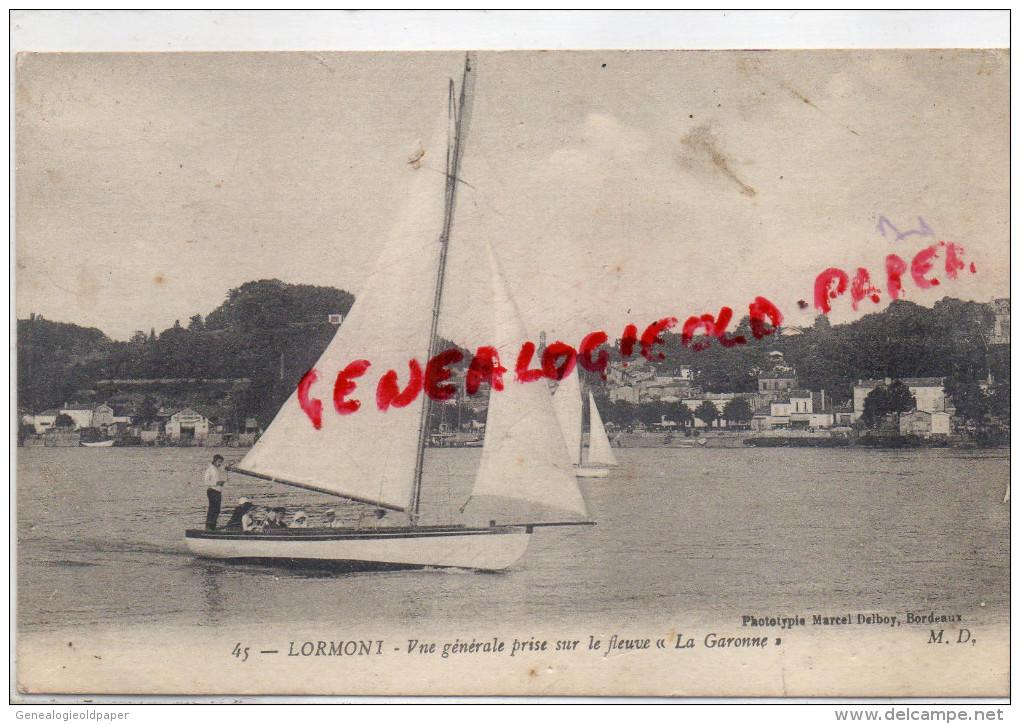 33 - LORMONT - VUE GENERALE PRISE SUR LE FLEUVE LA GARONNE - Sonstige Gemeinden